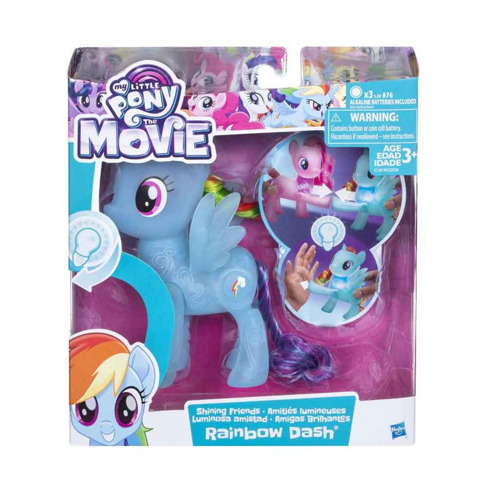 MY LITTLE PONY MOVIE SHINING FRIENDS