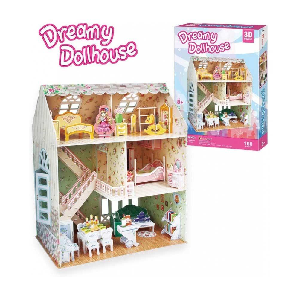 CUBICFUN PUZZLE DREAMY DOLLHOUSE P645h