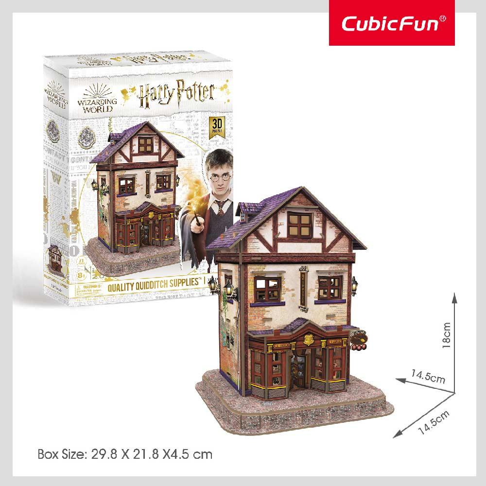 CUBICFUN PUZZLE HARRY POTTER DIAGON ALLEY - QUALITY QUIDDITCH SUPPLIES DS1008h