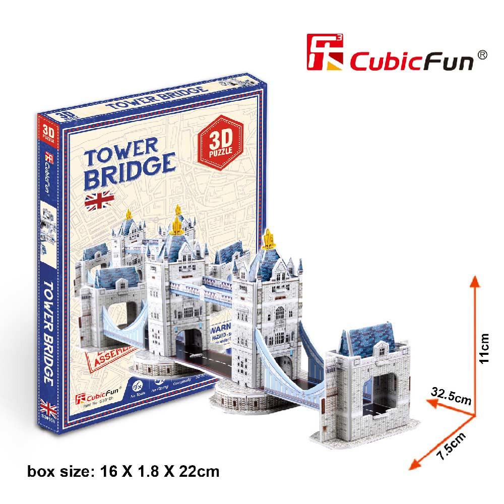 CUBICFUN PUZZLE TOWER BRIDGE S3010h