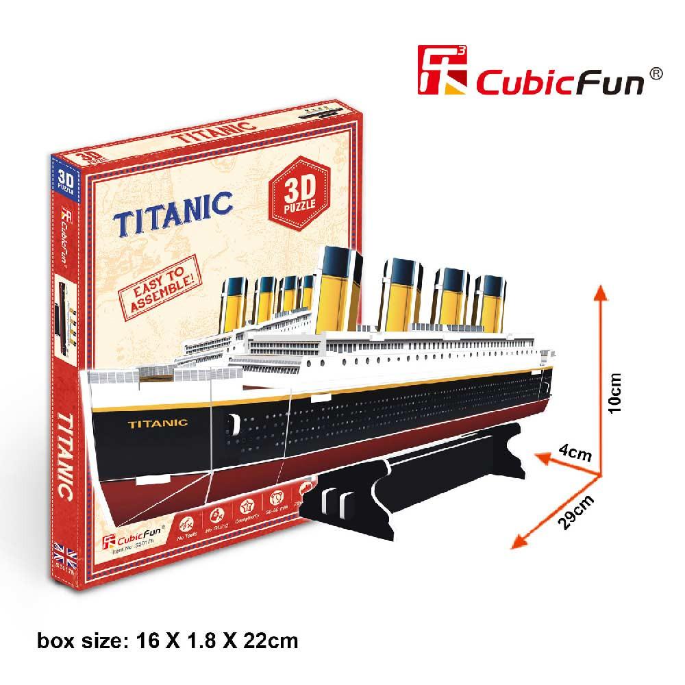 CUBICFUN PUZZLE TITANIC S3017h