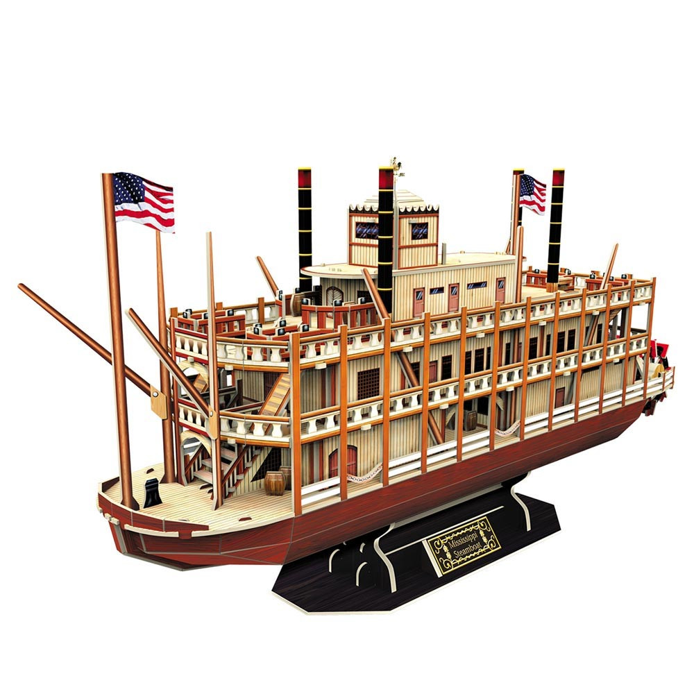CUBICFUN PUZZLE MISSISSIPPI STEAMBOAT