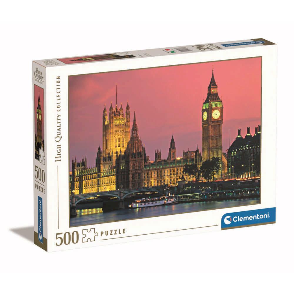 CLEMENTONI PUZZLE 500 HQC LONDON