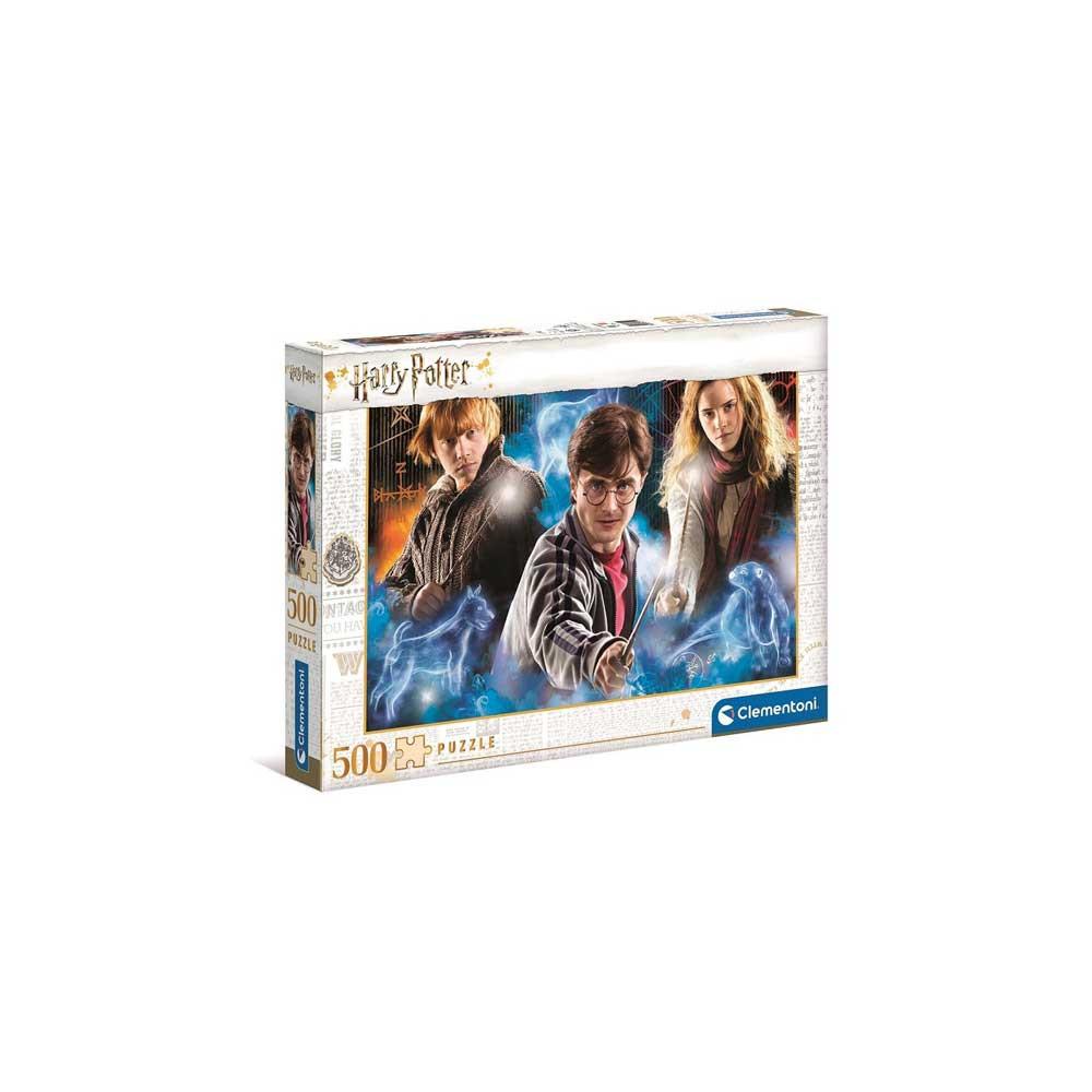 CLEMENTONI PUZZLE 500 HQC HARRY POTTER  1