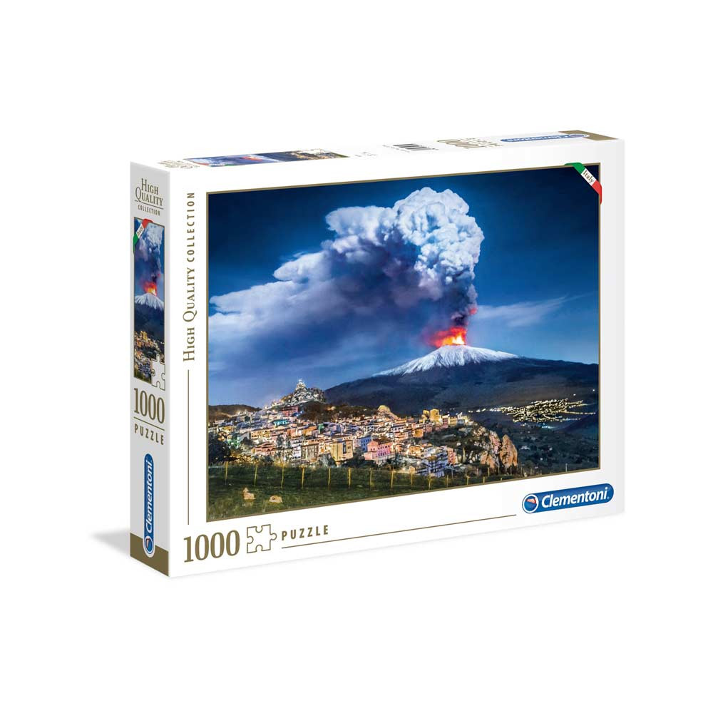 CLEMENTONI PUZZLE 1000 ITALIAN COLLECTION - ETNA