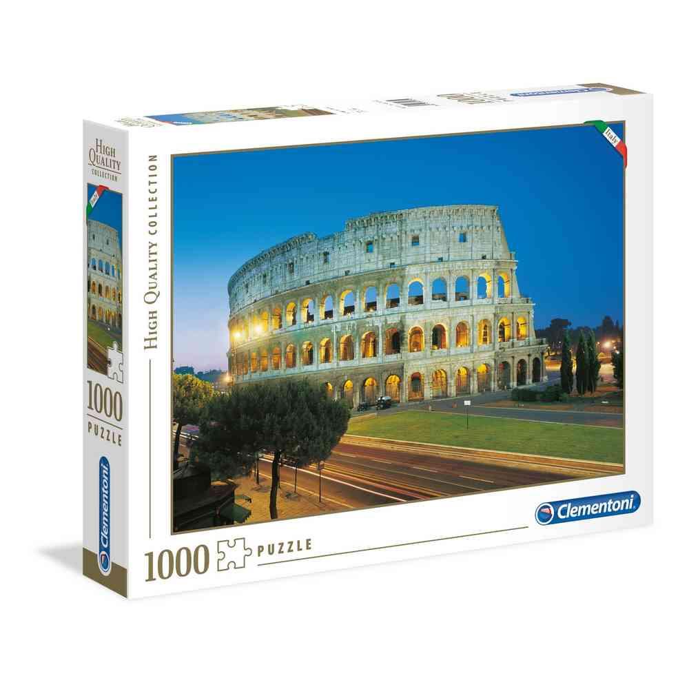 CLEMENTONI PUZZLE 1000 ITALIAN COLLECTION - ROMA- COLO