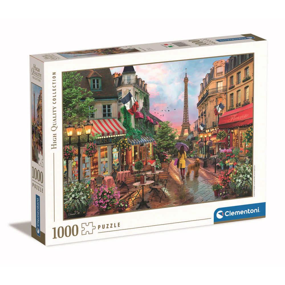 CLEMENTONI PUZZLE 1000 HQC FLOWERS IN PARIS - 2019