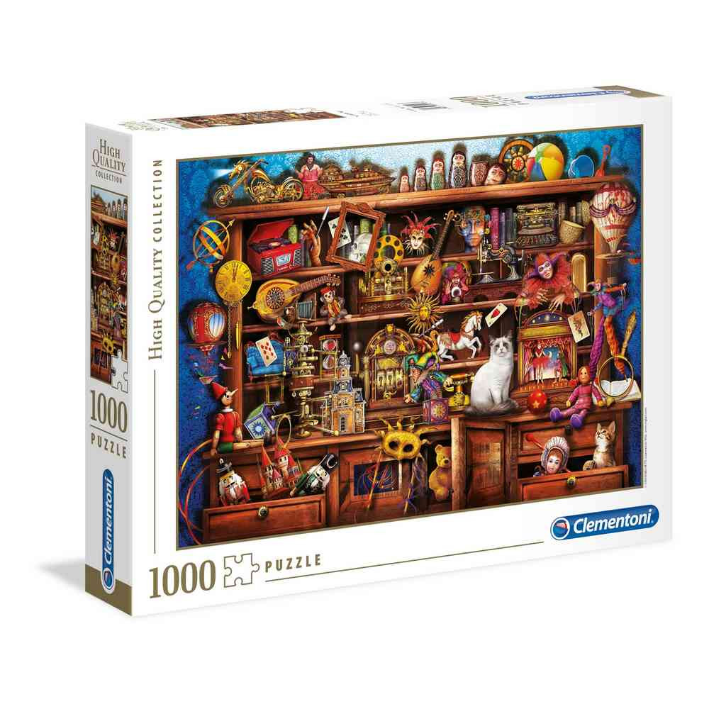 CLEMENTONI PUZZLE 1000 HQC YE OLD SHOPPE -2020-