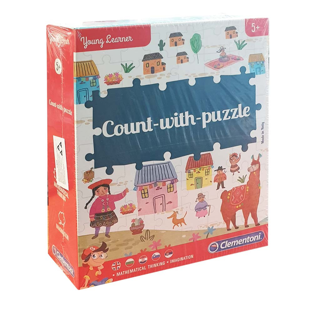 CLEMENTONI COUNT WITH PUZZLE SET