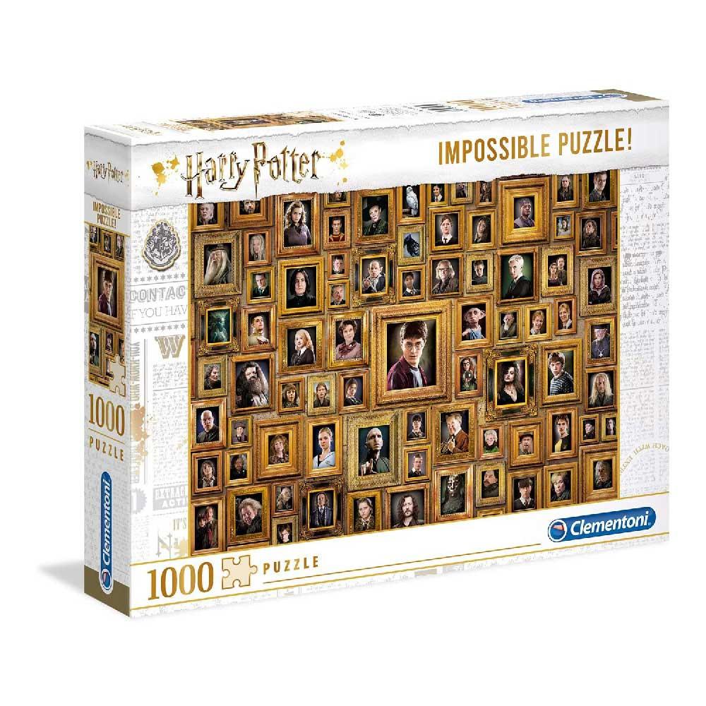 CLEMENTONI PUZZLE 1000 IMPOSSIBLE HARRY POTTER