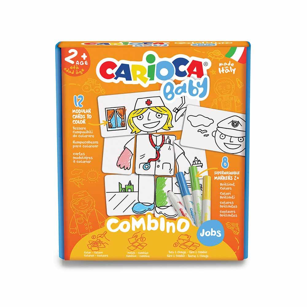 CARIOCA FLOMASTER SET COMBINO JOBS BABY