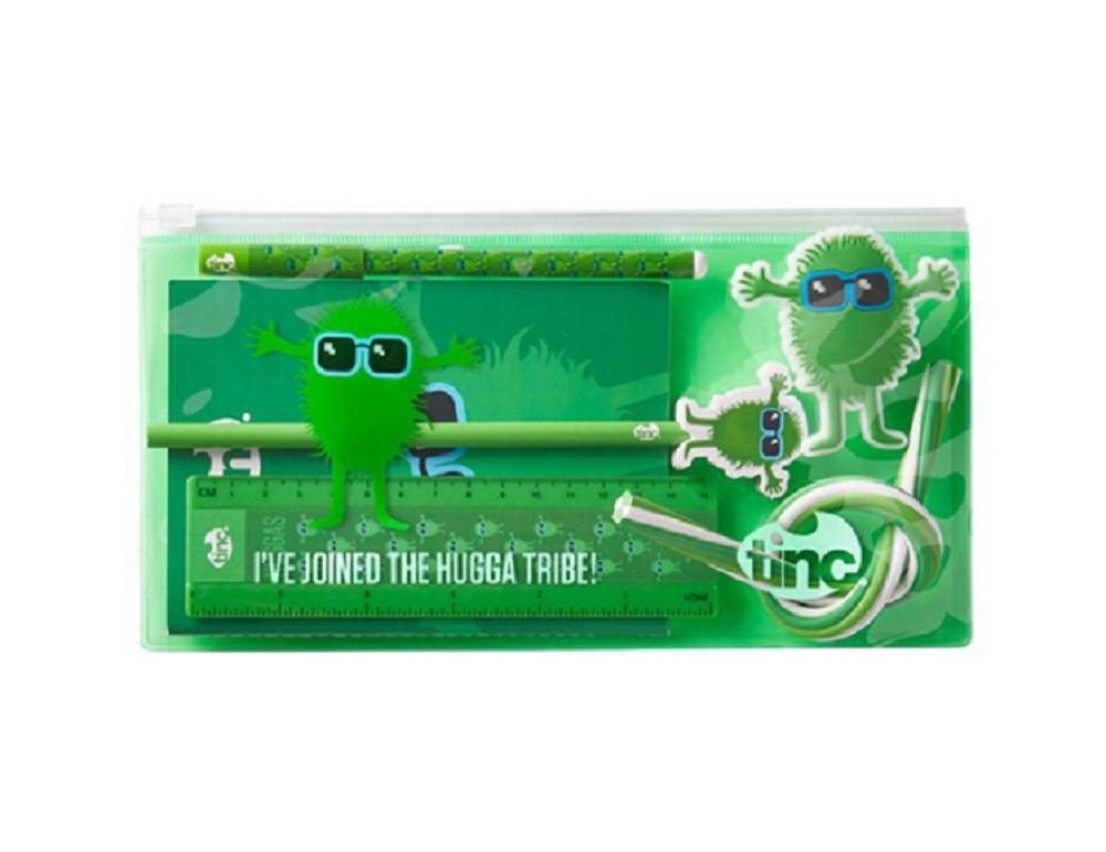 TINC LTD SKOLSKI SET HUGGA TRIBAL GREEN