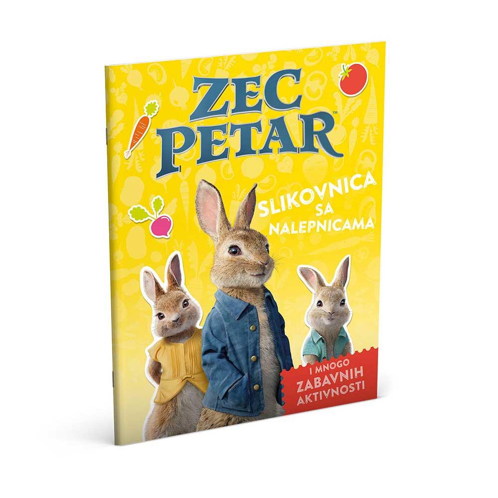 BEATRIX POTTER ZEC PETAR - SLIKOVNICA SA NALEPNICAMA