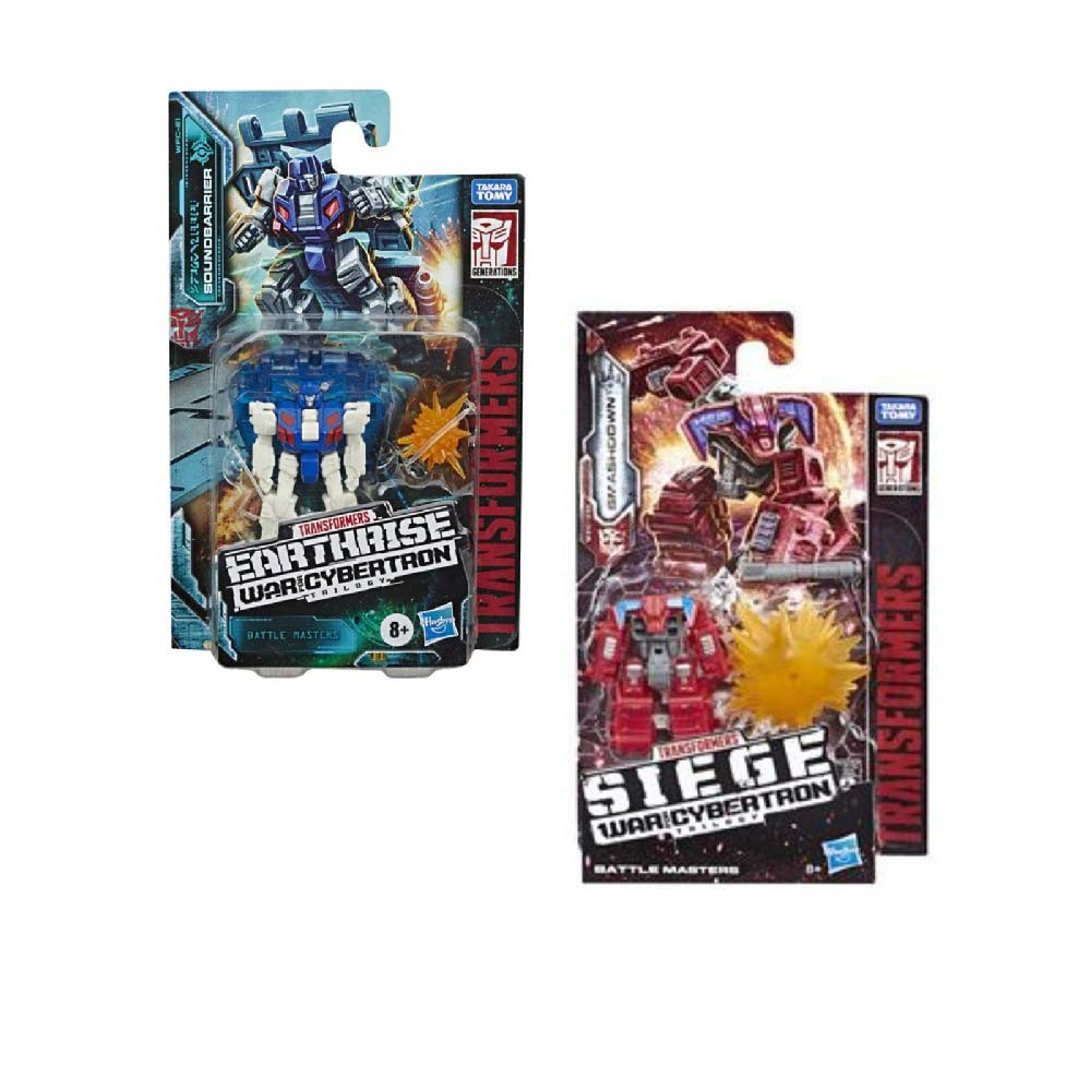 TRANSFORMERS GEN BATTLE MASTER ASST