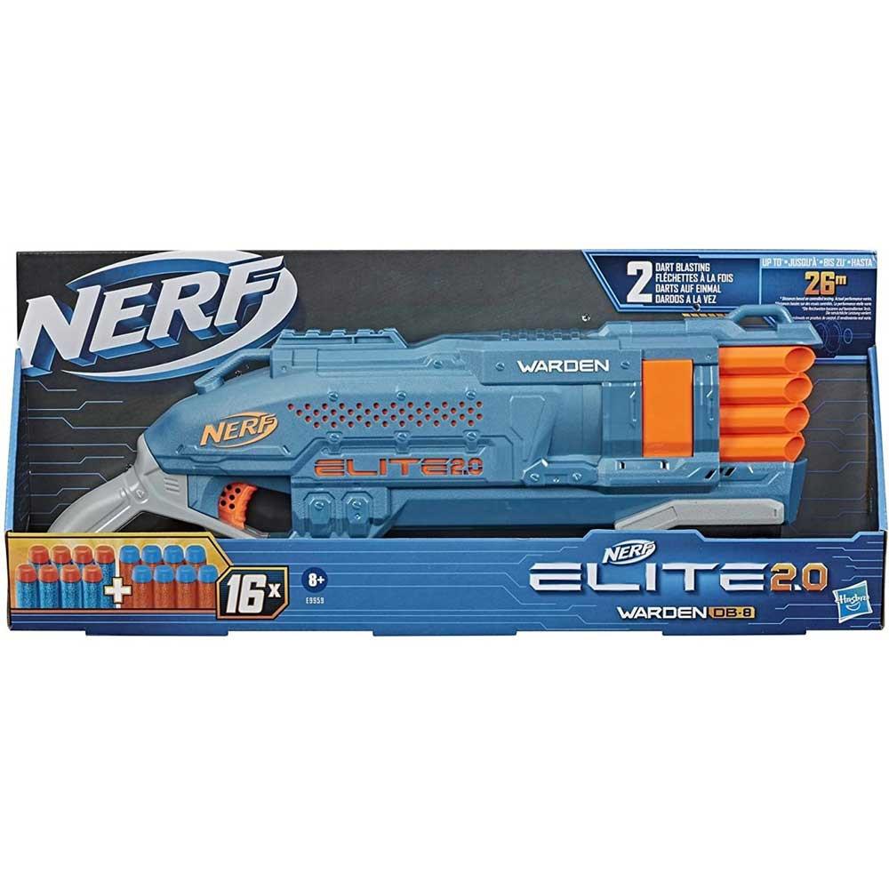 NERF ELITE 2 WARDEN DB 8