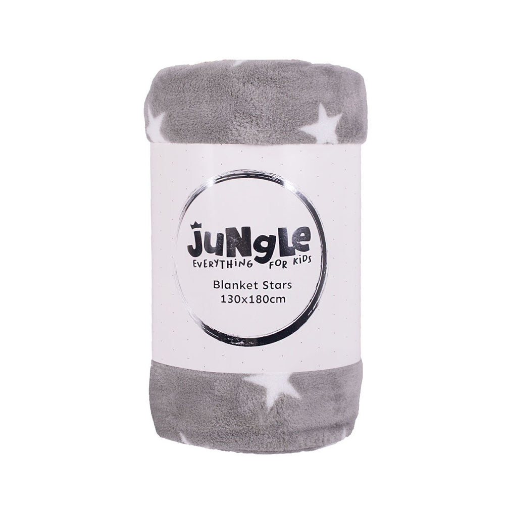 JUNGLE NVT21-02 ĆEBE ZVEZDICA 130X180 GREY-WHITE