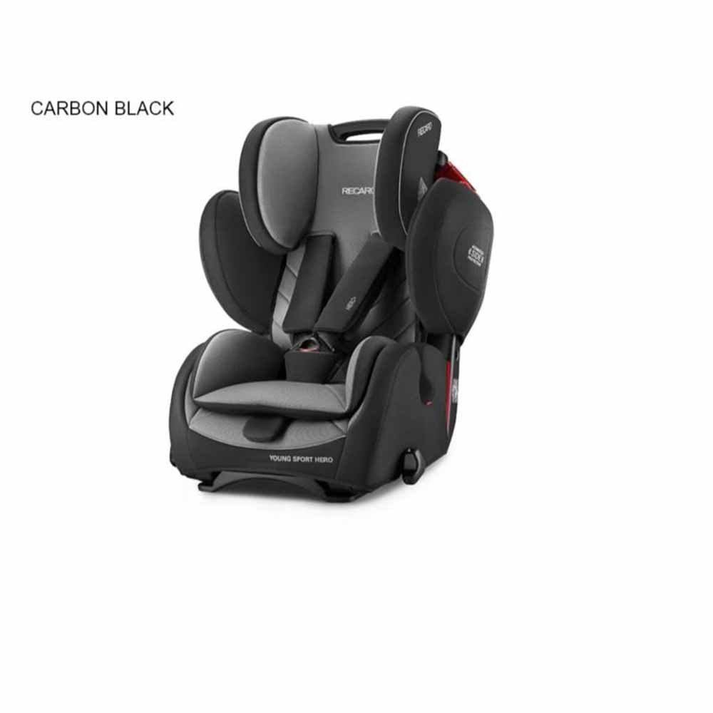 RECARO AUTO SEDISTE 1/2/3  9-36KG YOUNGSPORTHERO CARB BLACK