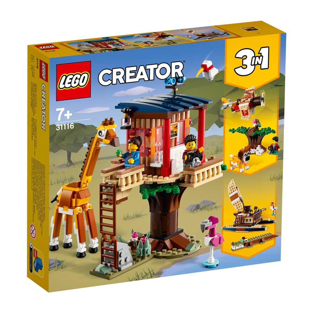 LEGO CREATOR SAFARI WILDLIFE TREE HOUSE