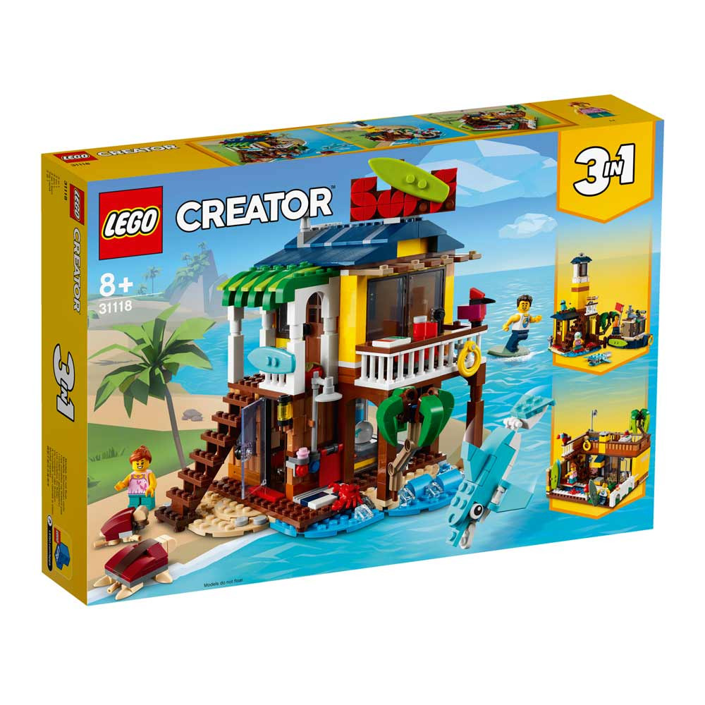 LEGO CREATOR SURFER BEACH HOUSE