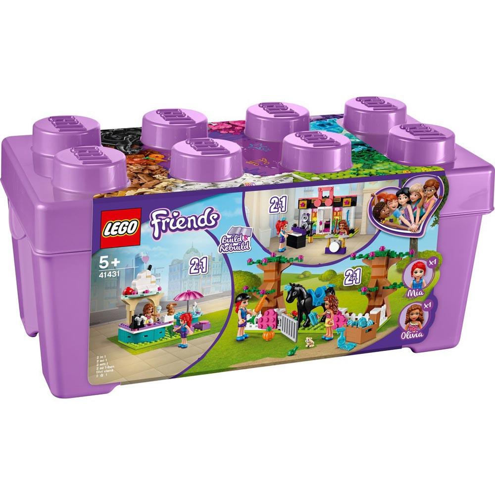 LEGO FRIENDS HEARLAKE CITY BRICK BOX