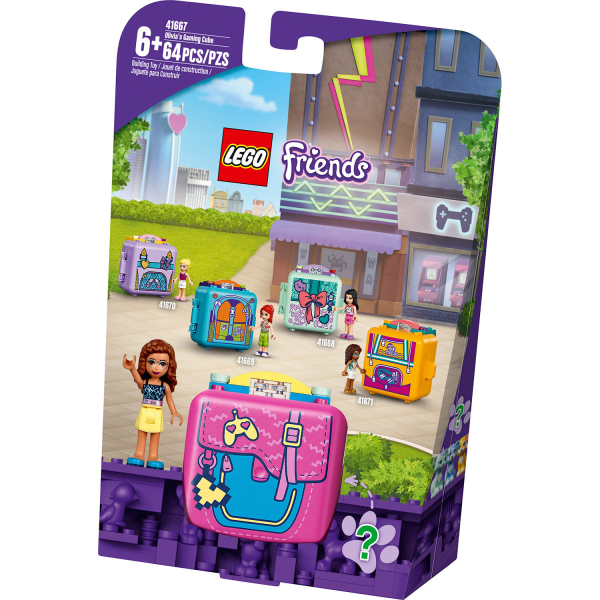 LEGO FRIENDS OLIVIAS GAMING CUBE