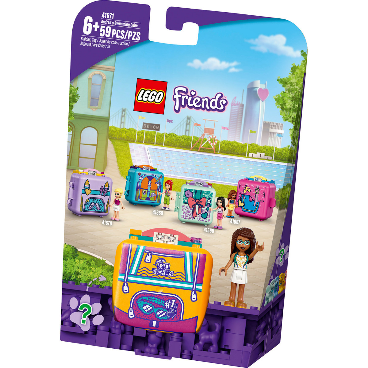 LEGO FRIENDS ANDREAS SWIMMING CUBE