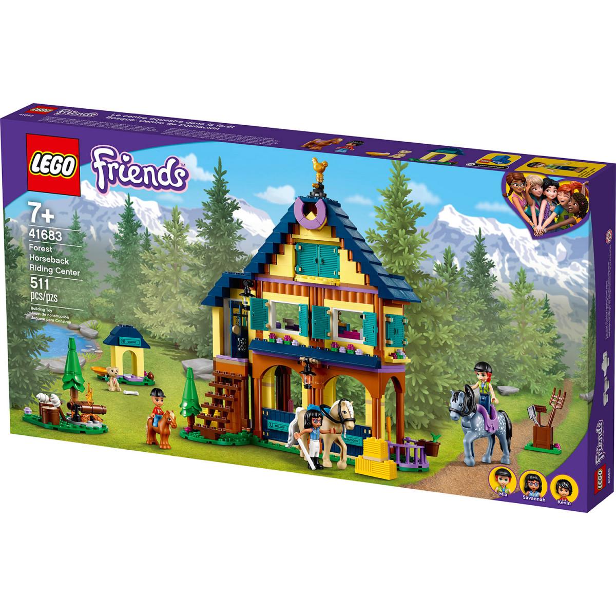 LEGO FRIENDS FOREST HORSEBACK RIDING CENTER