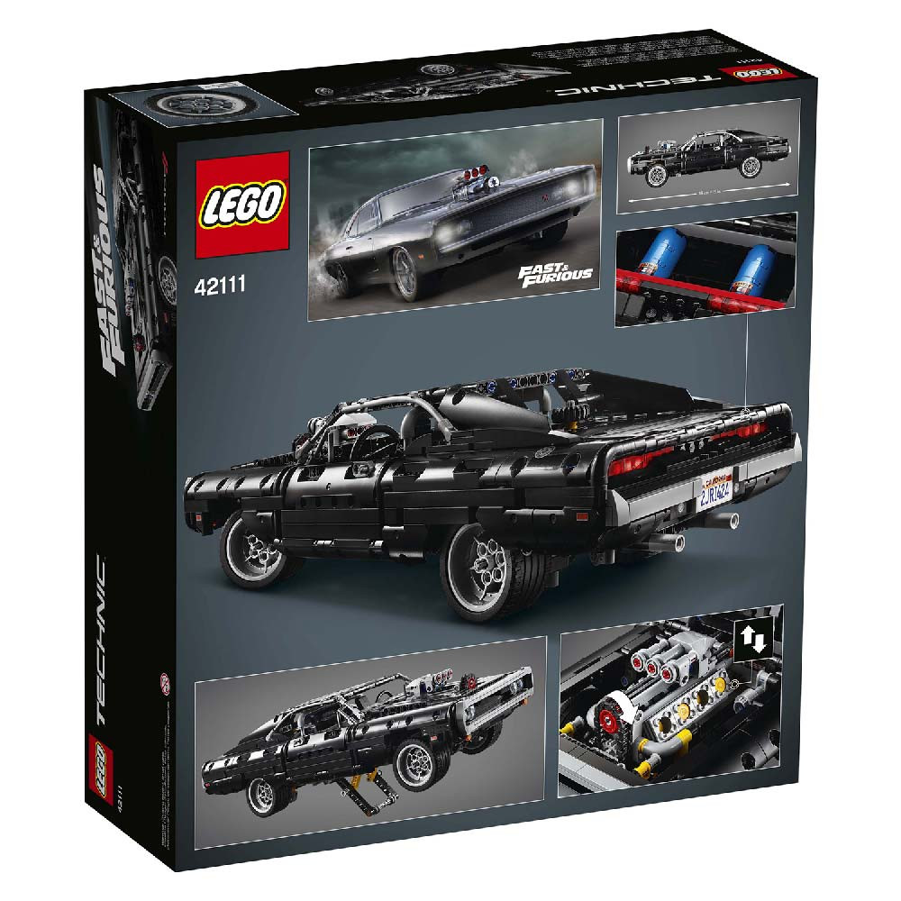 LEGO TECHNIC DOMS DODDGE CHARGER