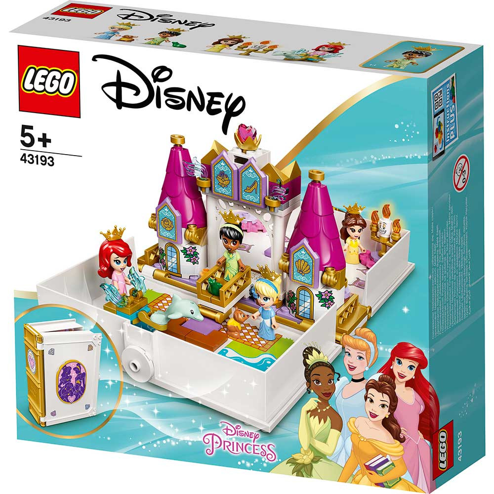LEGO DISNEY PRINCESS ARIEL BELLE CINDERELLA AND TIANAS STORYBOOK