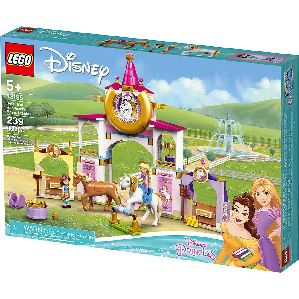 LEGO DISNEY PRINCESS BELLE AND RAPUNZELS ROYAL STABLES