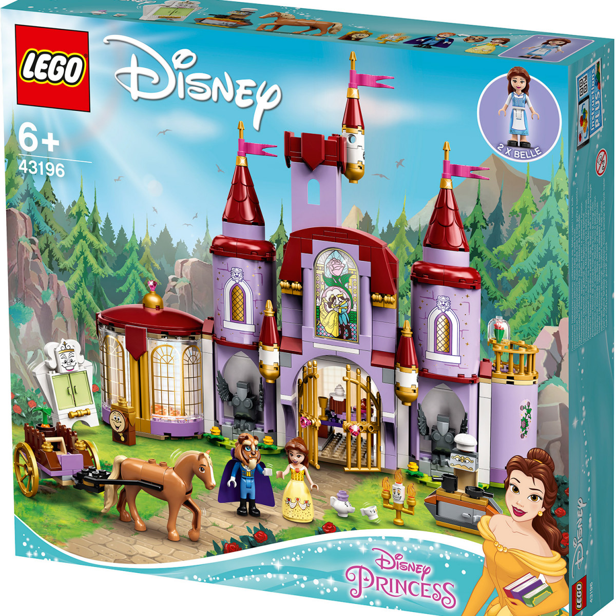 LEGO DISNEY PRINCESS BELLE AND THE BEASTS CASTLE