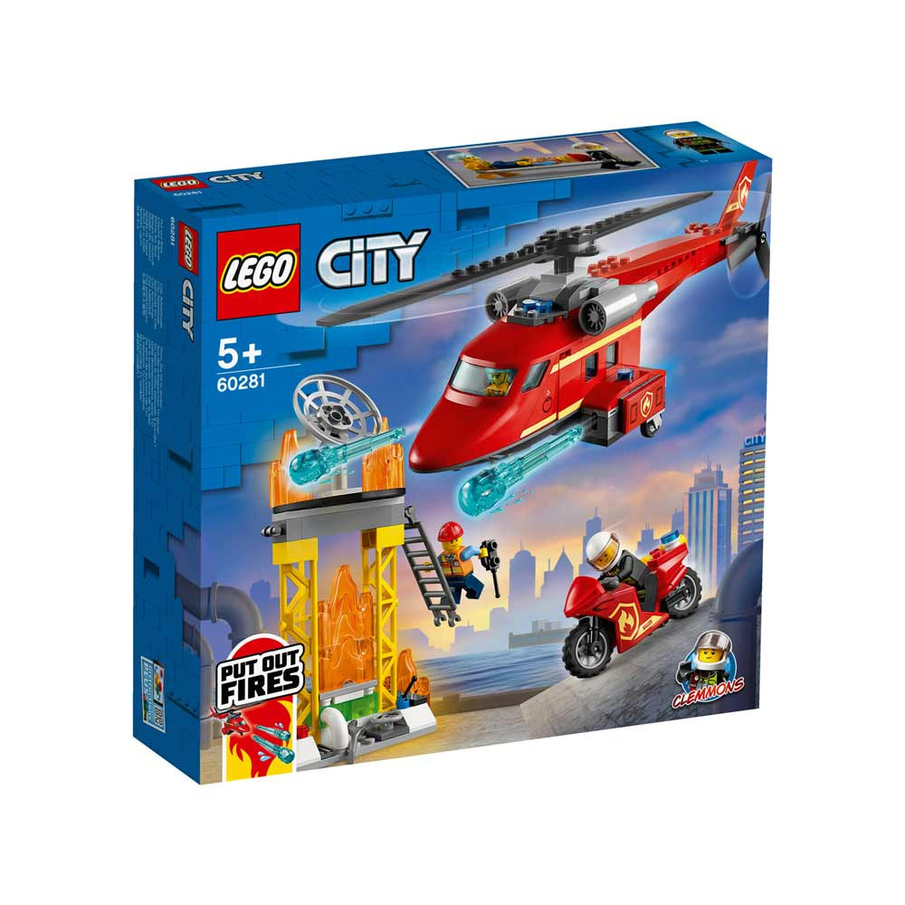 LEGO CITY FIRE RESCUE HELICOPTER