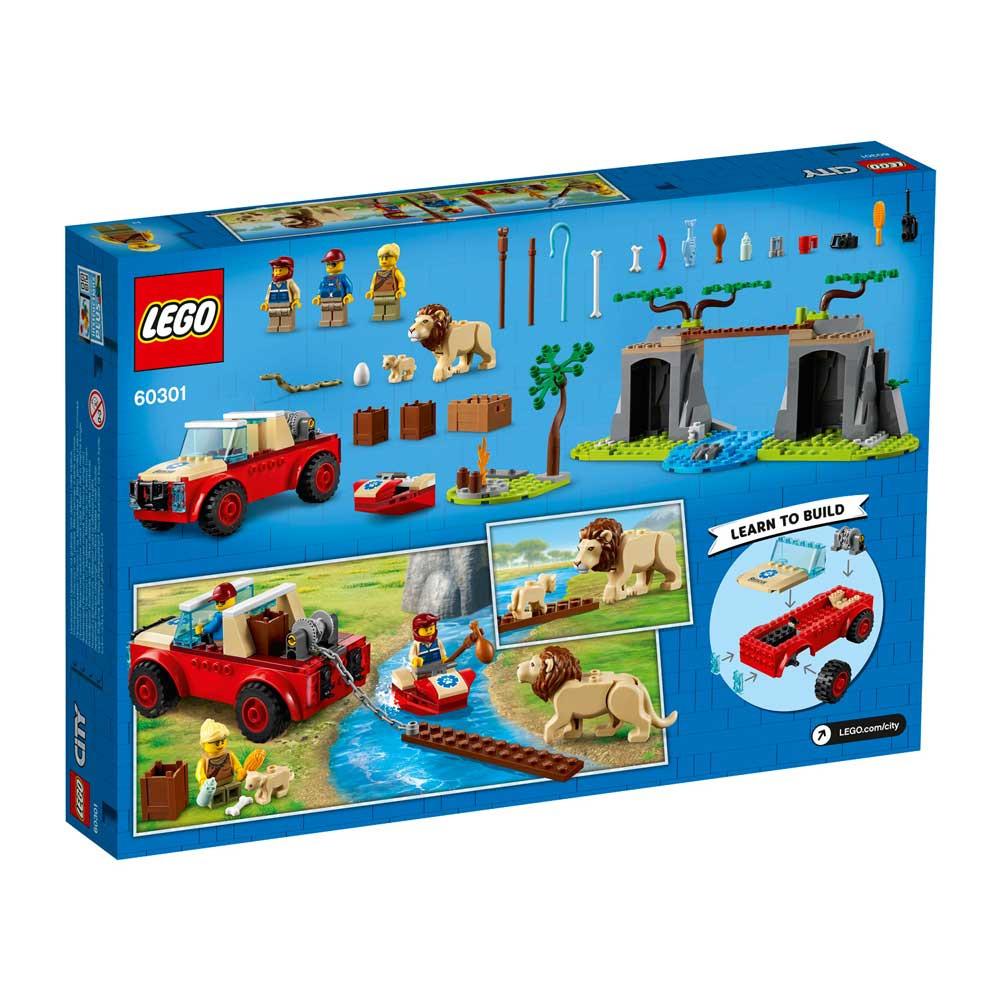 LEGO CITY WILDLIFE RECSUE OFF-ROADER