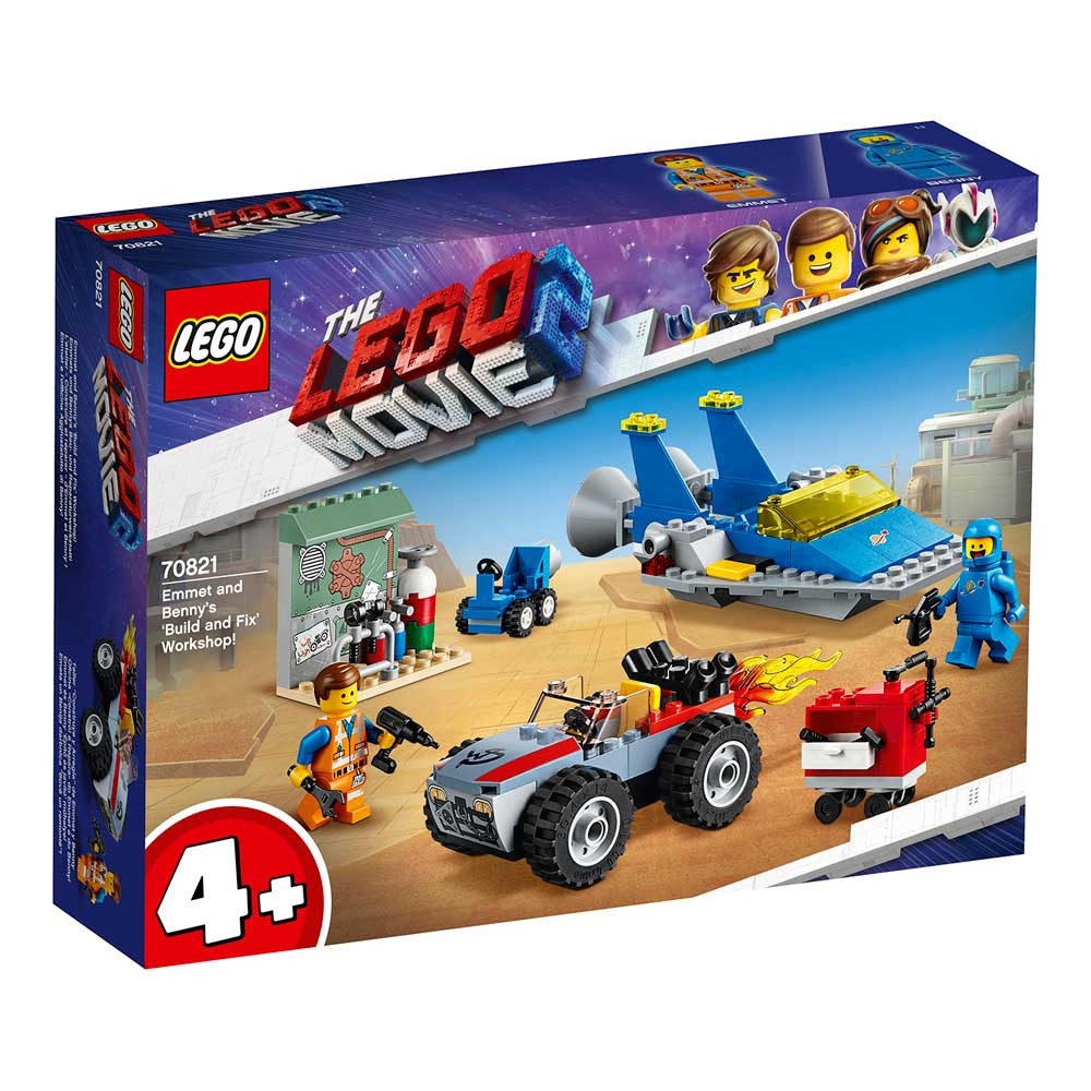 LEGO MOVIE EMMET AND BENNY'S ?BUILD AND