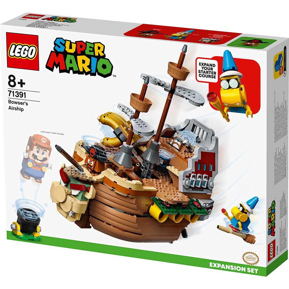 LEGO SUPER MARIO BOWSERS AIRSHIP EXPANSION SET