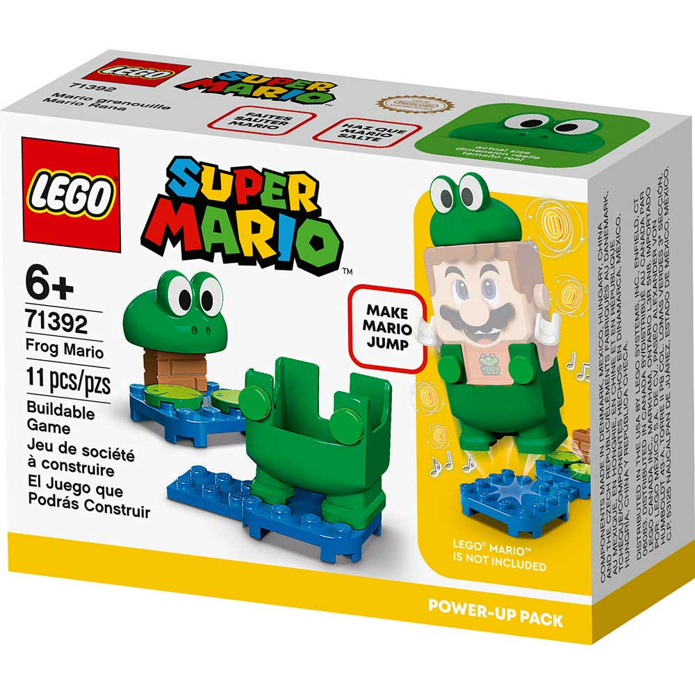 LEGO SUPER MARIO FROG MARIO POWER-UP PACK