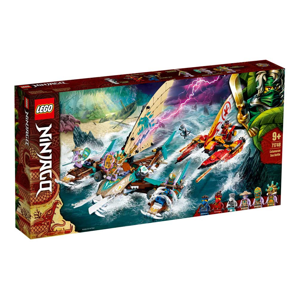 LEGO NINJAGO CATAMARAN SEA BATTLE