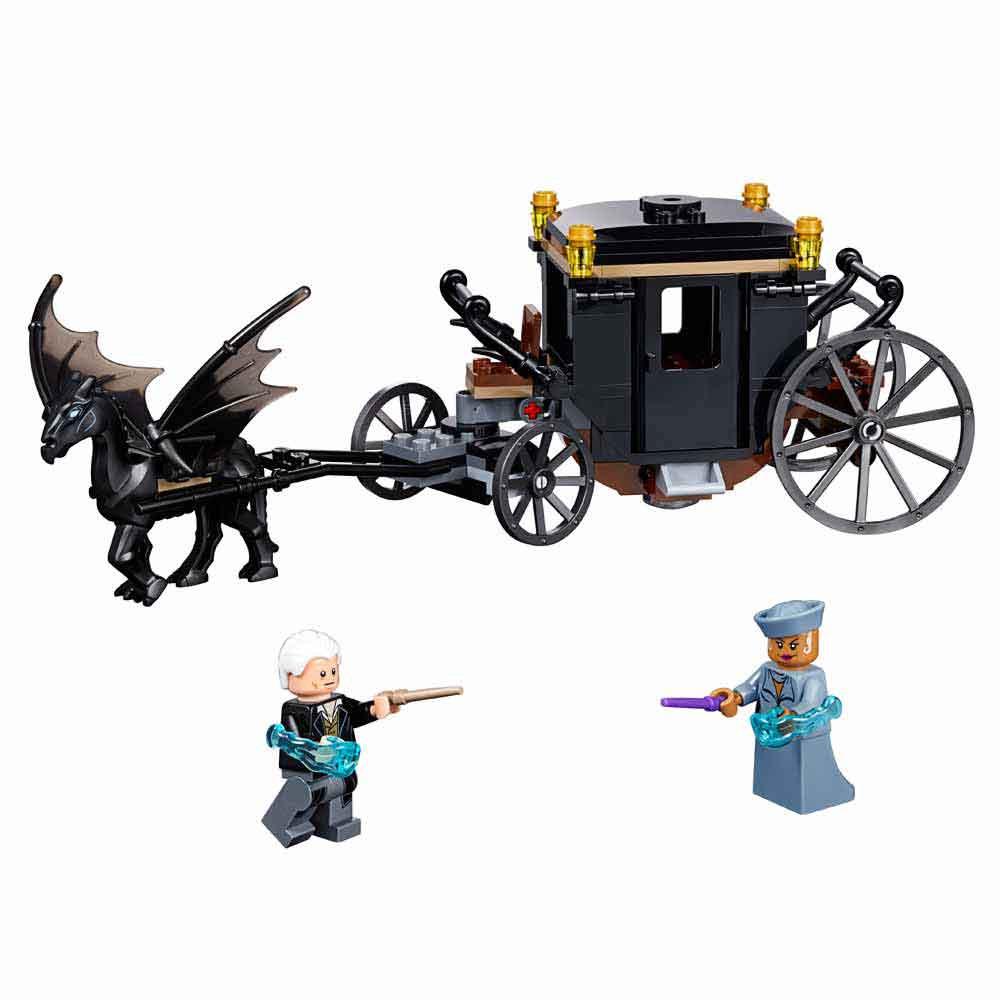 LEGO HARRY POTTER GRINDELWALD ESCAPE