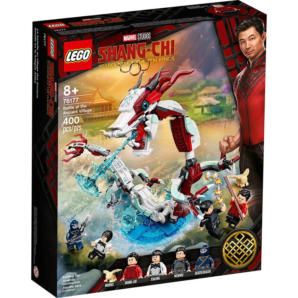 LEGO SUPER HERO BATTLE AT THE ANCIENT VILLAGE