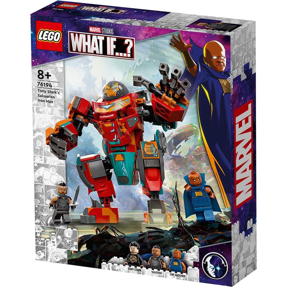 LEGO SUPER HEROES TONY STARKS SAKAARIAN IRON MAN