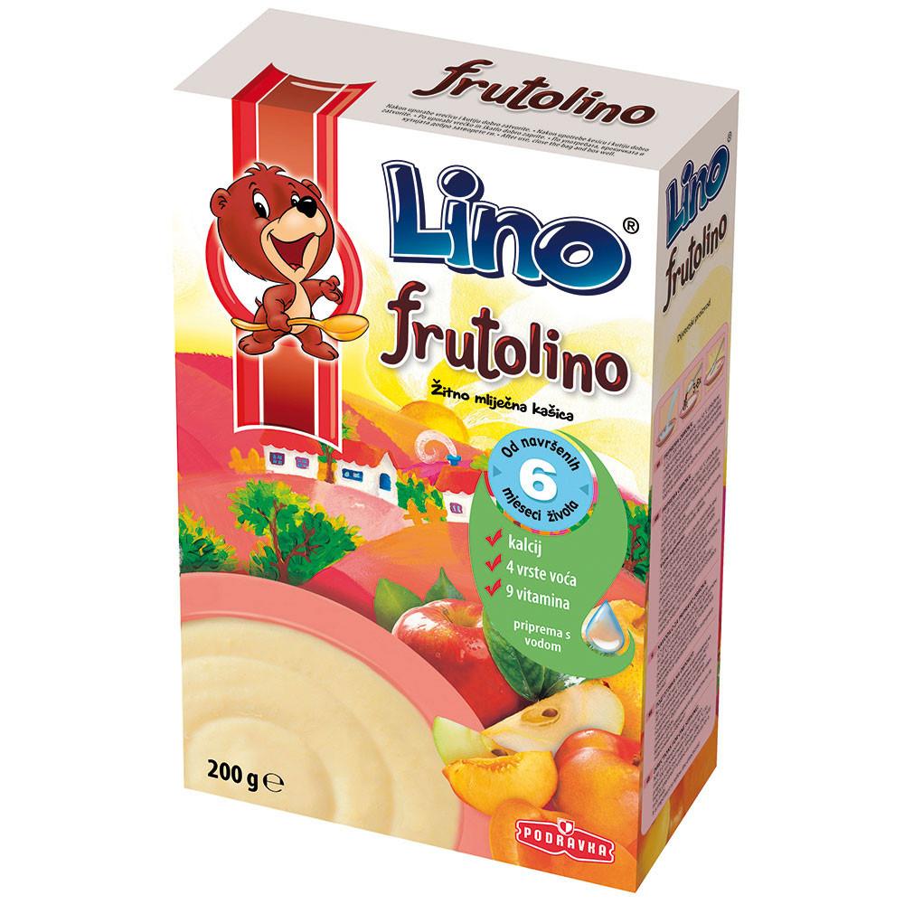 PODRAVKA LINO FRUTOLINO 200 G KUT