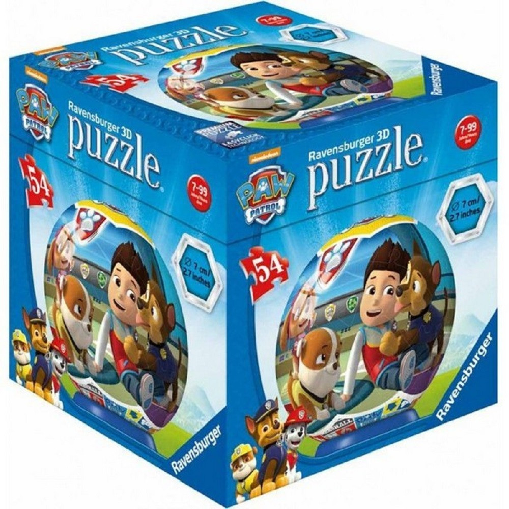 RAVENSBURGER 3D PUZZLE  PAW PATROL