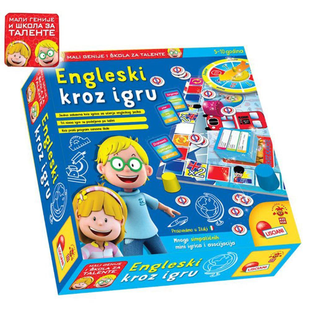 LISCIANI - MALI GENIJE EDUKATIVNA IGRA GO GO ENGLISH MOJ PRVI ENGLESKI