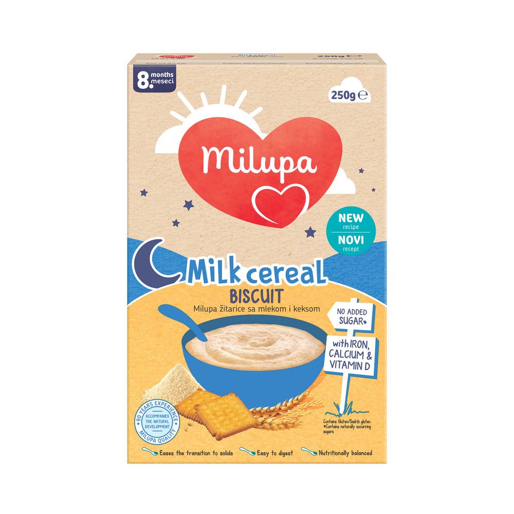 MILUPA KEKS 8+ 250G