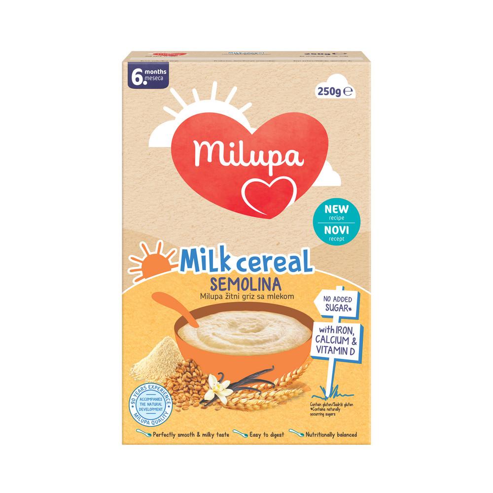 MILUPA GRIZ 6+ 250G