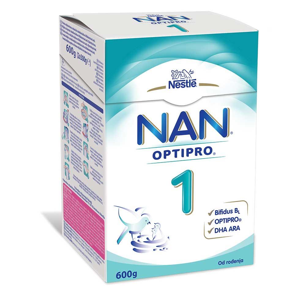 NESTLE NAN 1 OPTIPRO 0M 600G