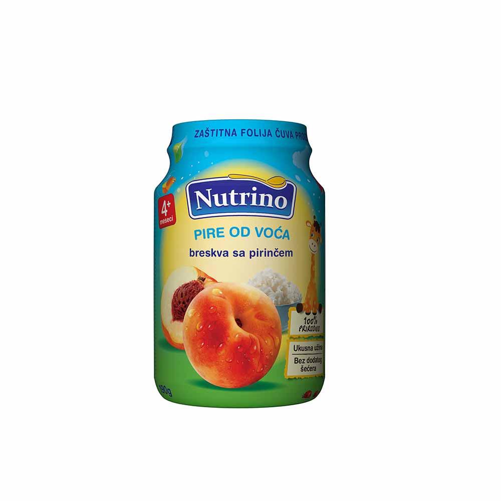 NUTRINO  - PIRE OD VOCA - BRESKVA SA PIRINCEM