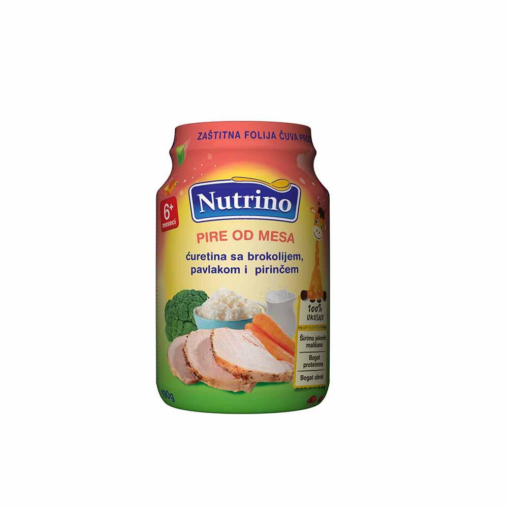NUTRINO  - PIRE OD MESA - CURETINA SA BROKOLIJEM, PAVLAKOM I  PIRINCEM