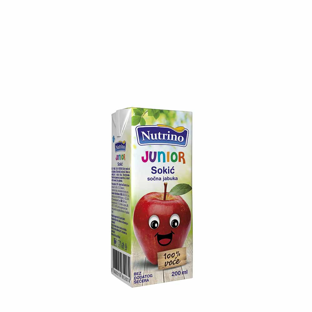 NUTRINO JUNIOR SOKIC SOCNA JABUKA