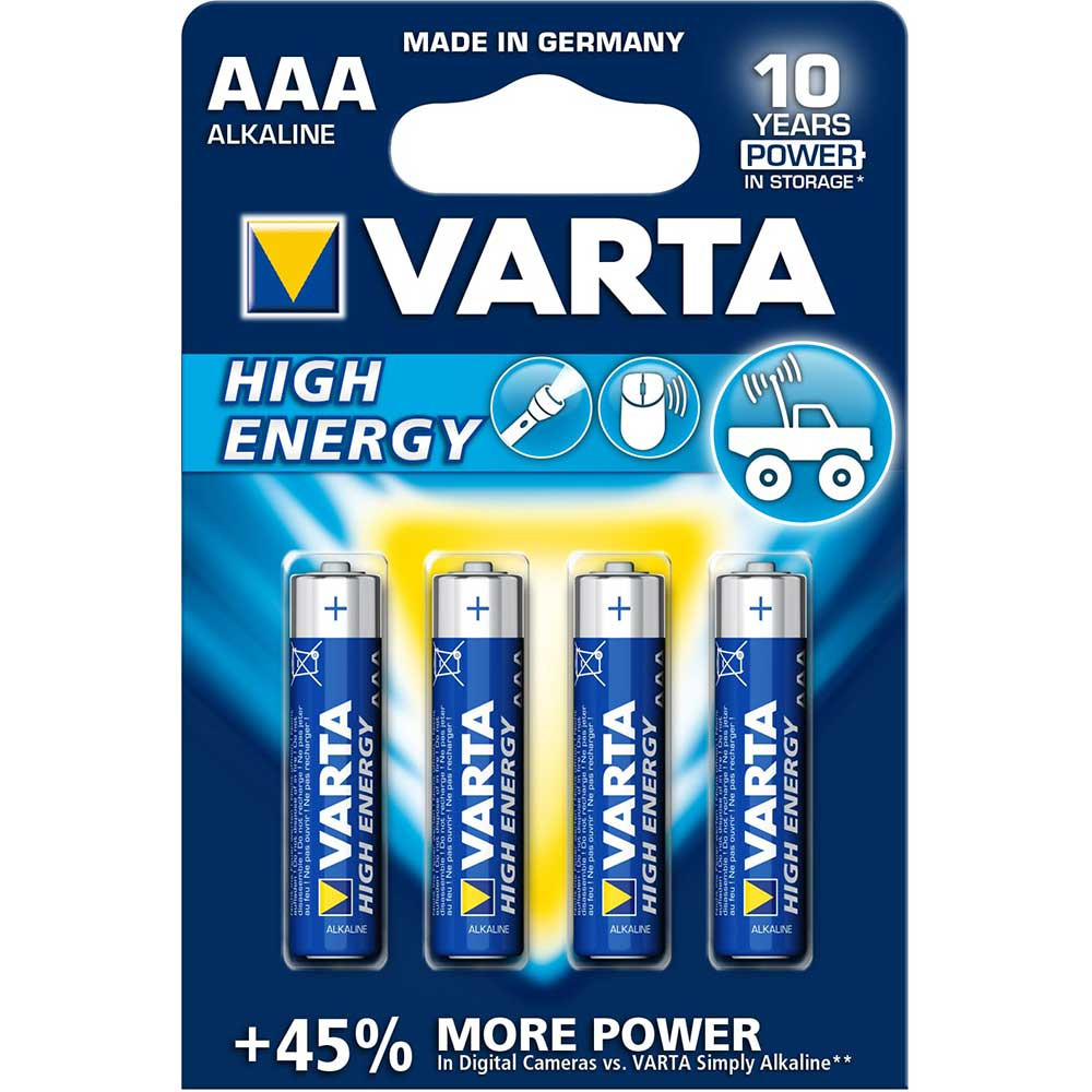 VARTA HIGH ENERGY ALKALNA LR03 BLI4
